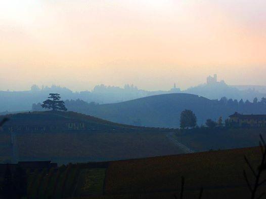 Susseguirsi di colline e di colori pastelli