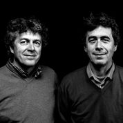 I fratelli Gianni e Giorgio Viberti della cascina Ballarin