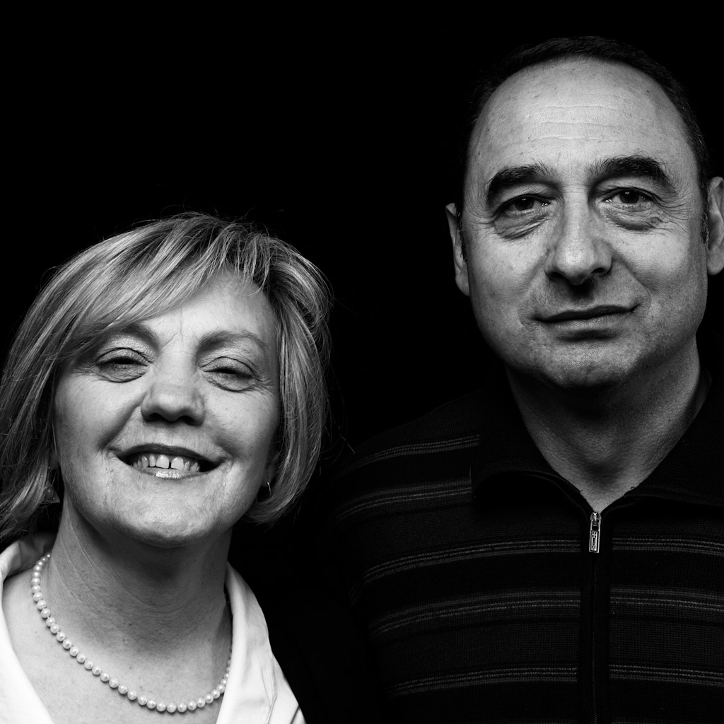 Marisa e Franco dell'Agriturismo Il Gelso