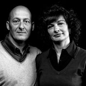 Stefania e Giuliano dell' az. agr. Corino Giovanni