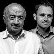 Andrea e Fabio dell' az. agr. Oberto Andrea