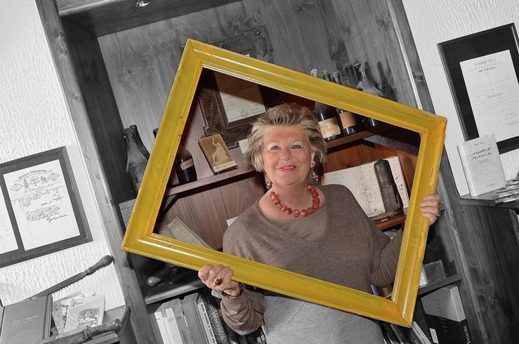 Claudia Ferraresi dell' associazione culturale Ca dj' Amis